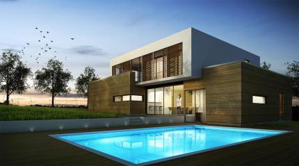 Cabinet serge roux architecte dplg for Exterieur villa design