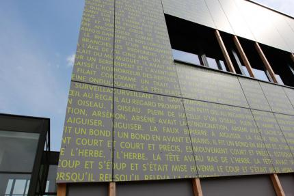 Vue sur façade
